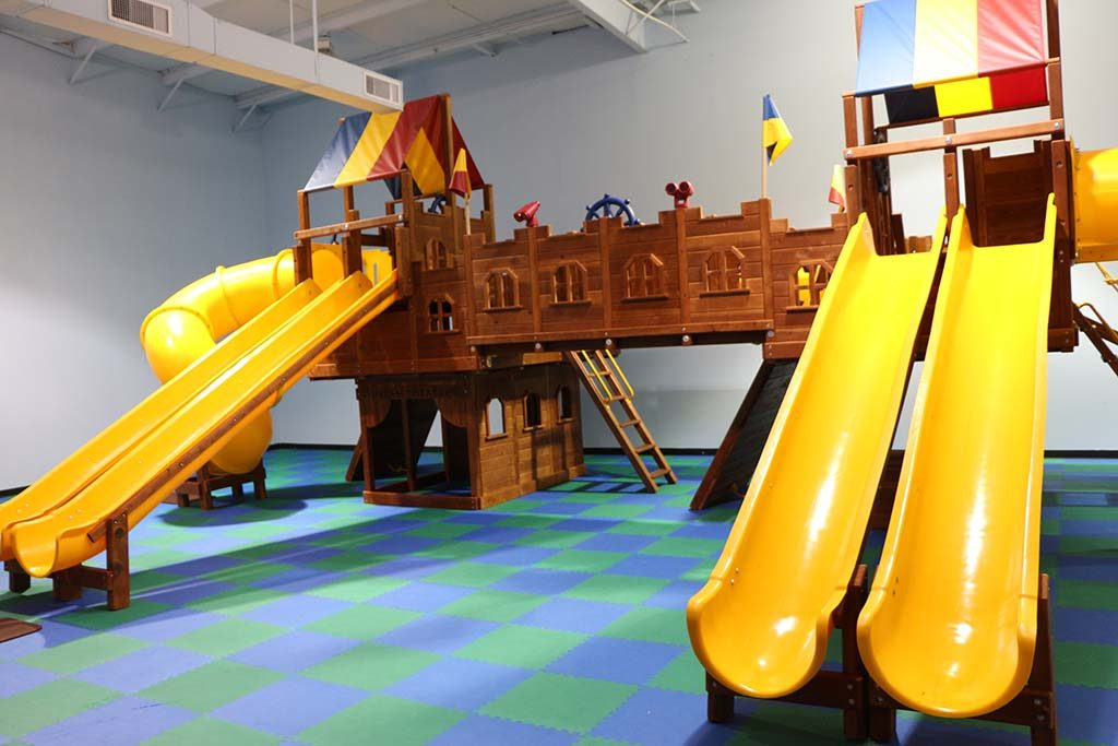 The Rainbow Party Room Provides A Safe And Clean Environment For Kids Of All Ages