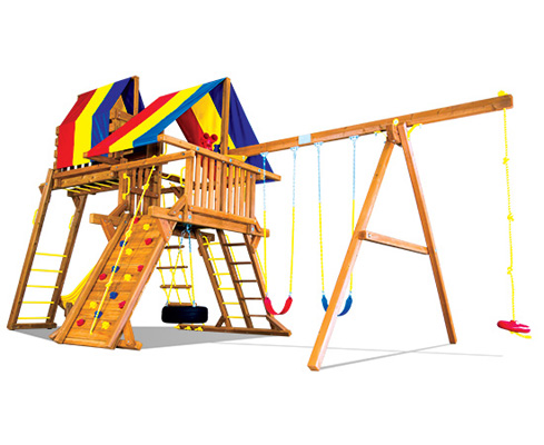 22a Carnival Castle Pkg Iv Loaded Rainbow Play Systems Of Nc